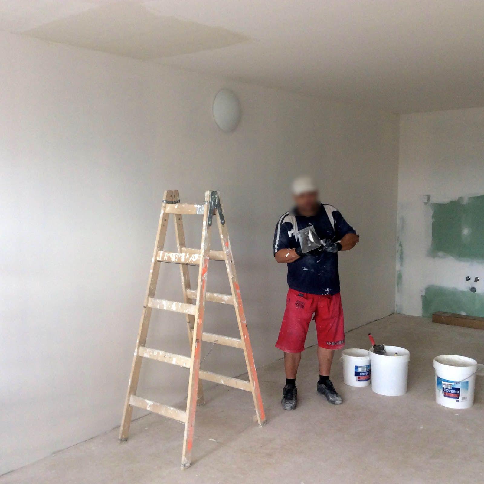 Příprava základů domu