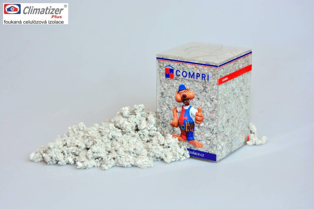 Celulózová izolace CIUR Climatizer Plus