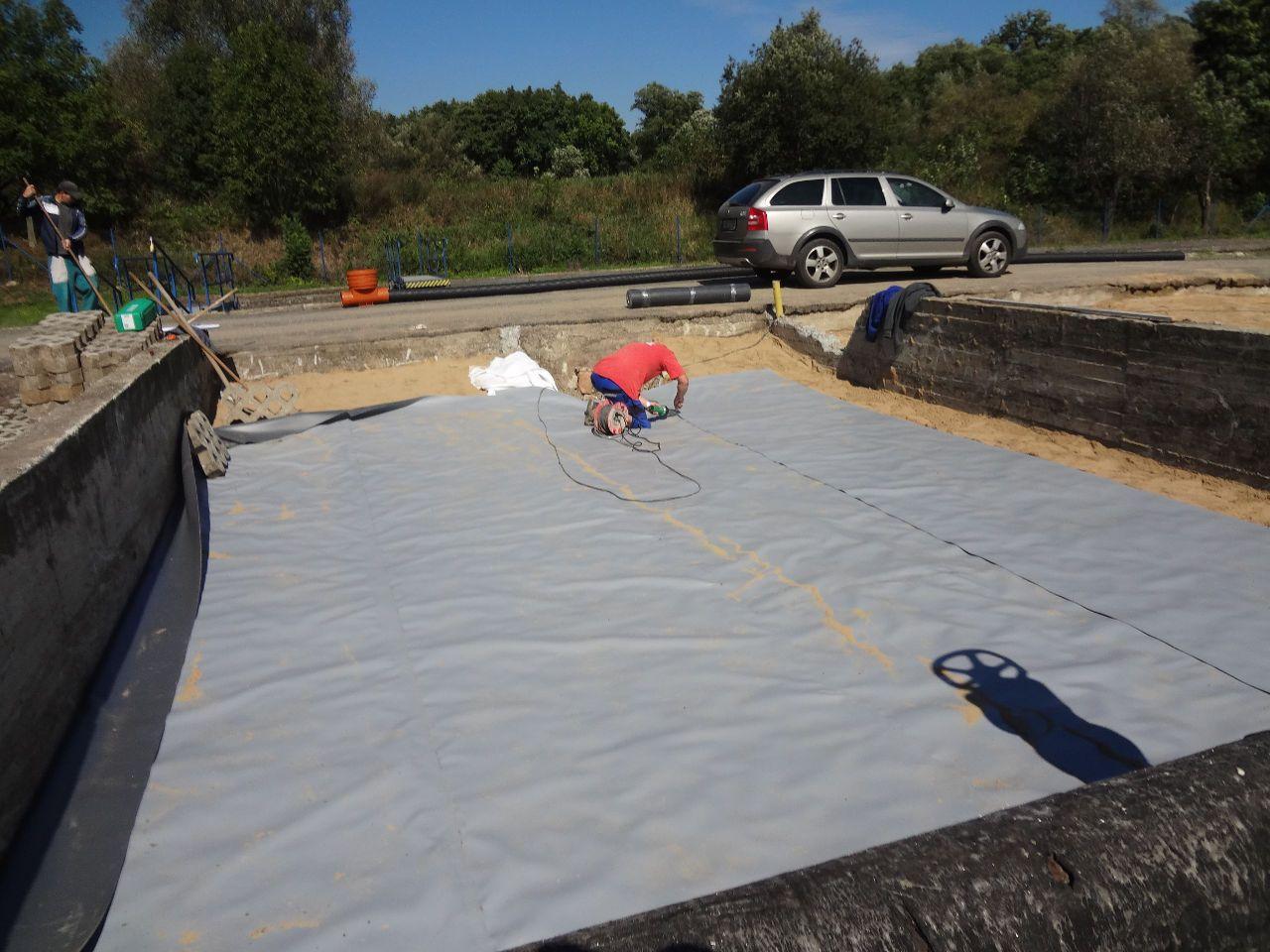 Příprava betonové podlahy