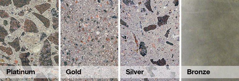Typy leštěného betonu