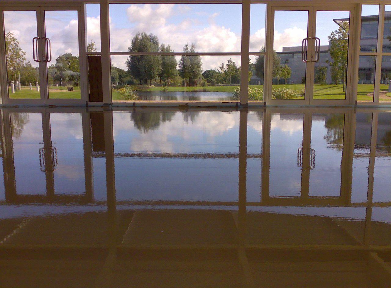 Anhydritová podlaha v domě