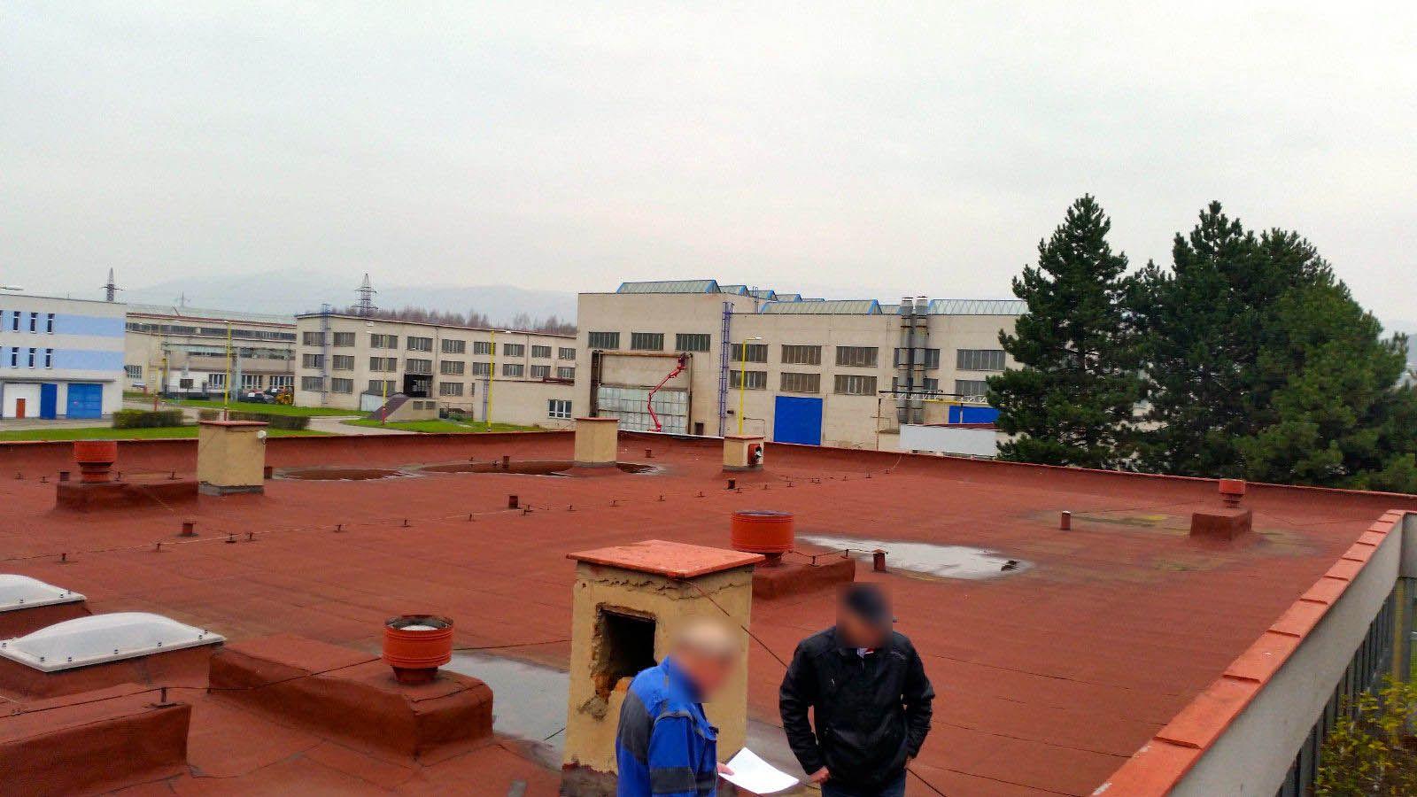 Stav vzduchotechniky před rekonstrukcí