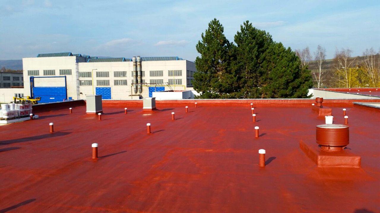 Stav střechy po rekonstrukci