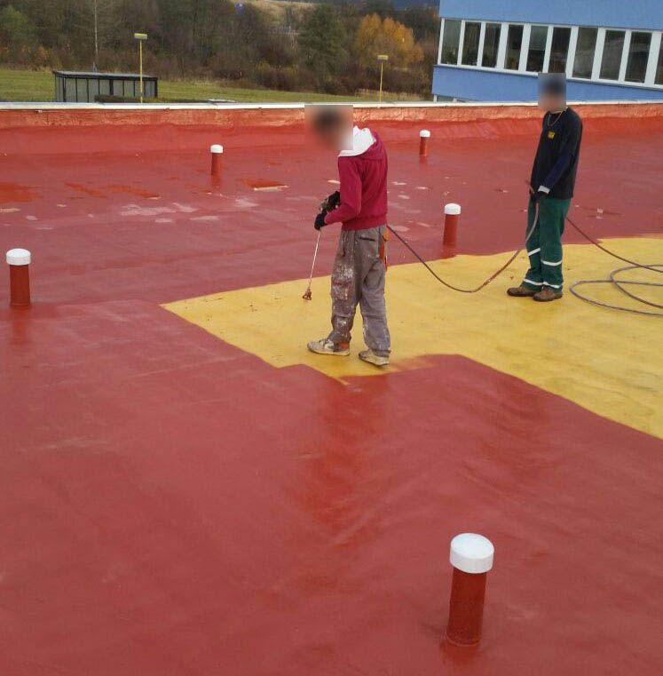 Zateplení ploché střechy - tvrdá pěna S 500 ROOF ®