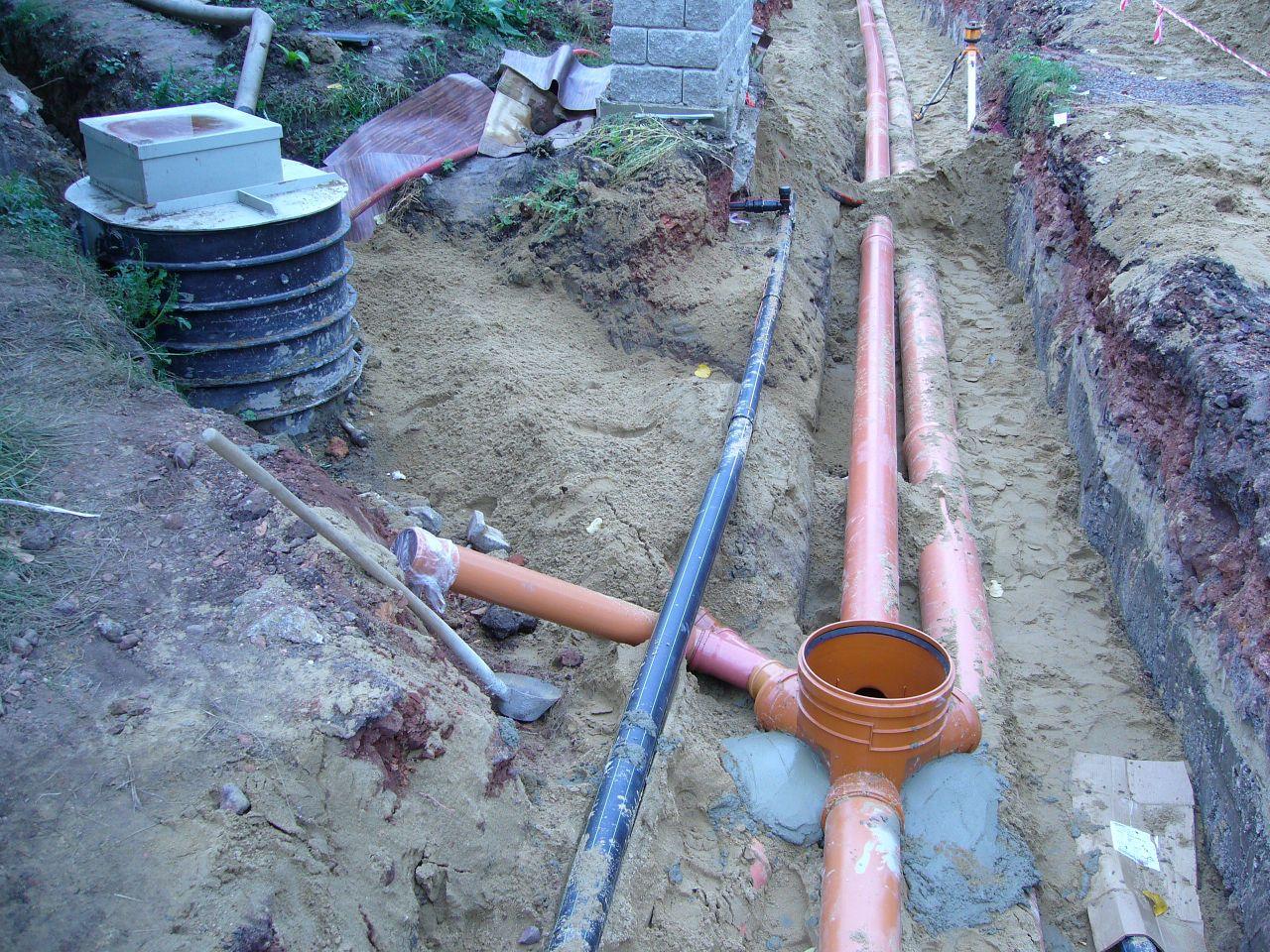 Napojení potrubí