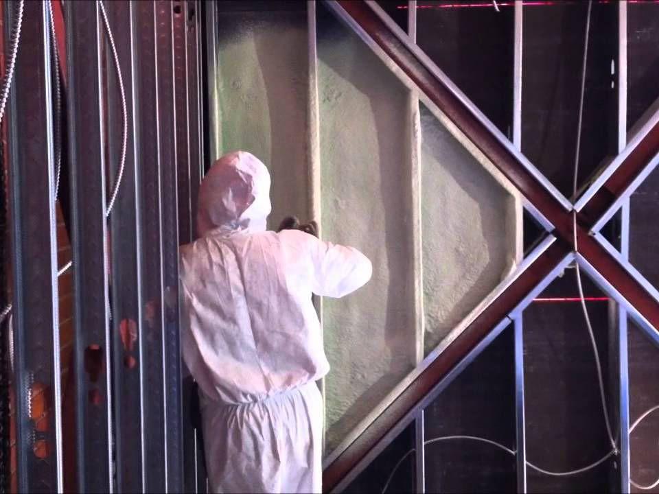 Izolace kovové stěny - tvrdá pěna S-303E-P