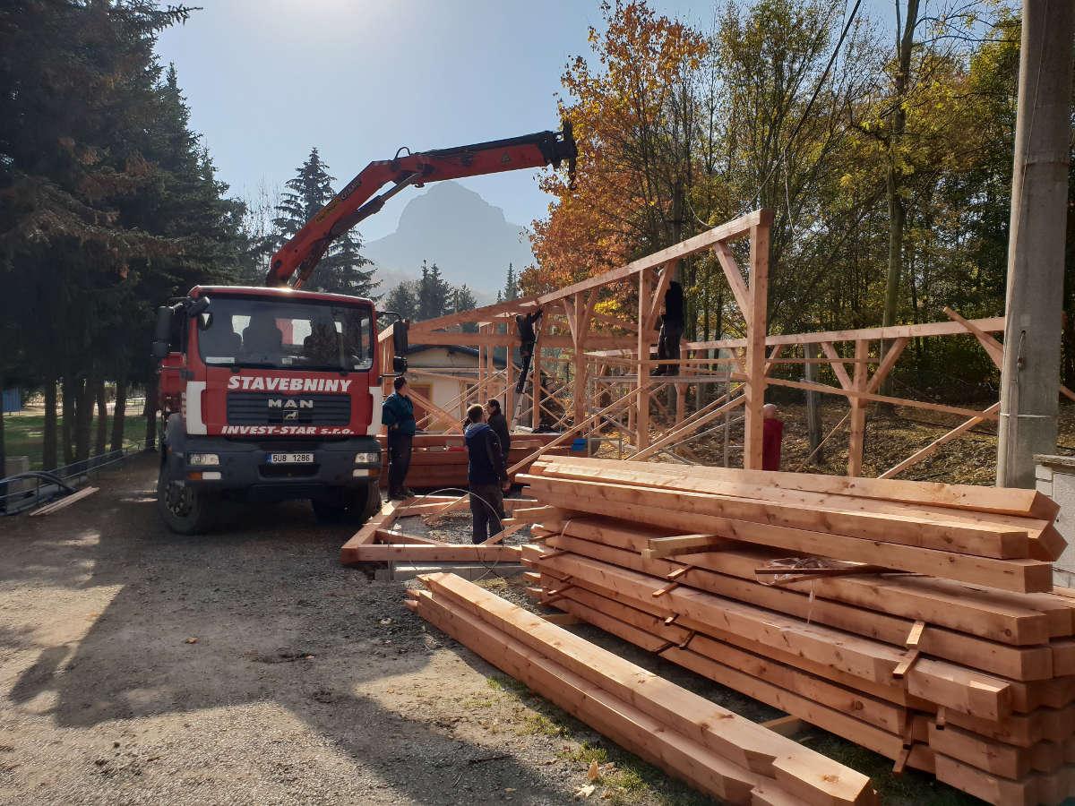 Nosné konstrukce ze dřeva