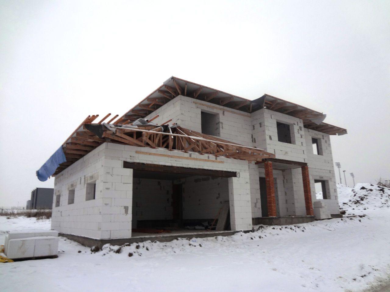 Hrubá stavba hotová